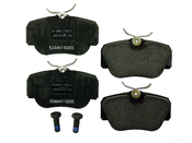 Mercedes Brake Pad Set (190E 190D) - Textar 0024200220