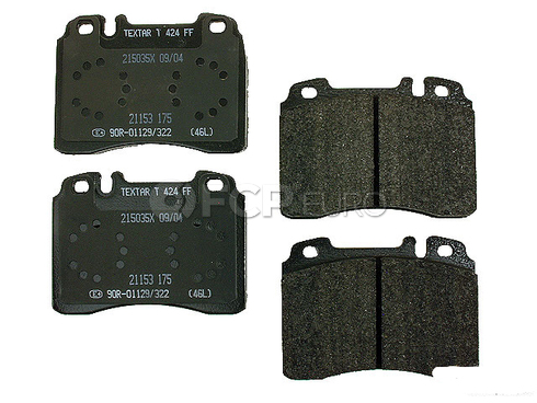 Mercedes Brake Pad Set (SL) - Textar 005420022041