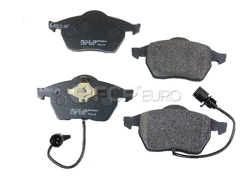 Audi Brake Pad Set - Meyle Semi Metallic D763SM