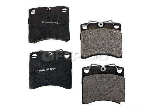 VW Brake Pad Set (EuroVan Transporter) - Meyle Semi Metallic D772SM