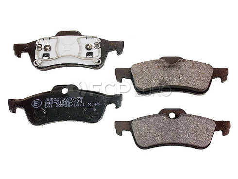 Mini Disc Brake Pad Rear (Cooper) - Jurid 573056J