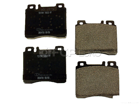 Mercedes Brake Pad Set - Textar 0024202620