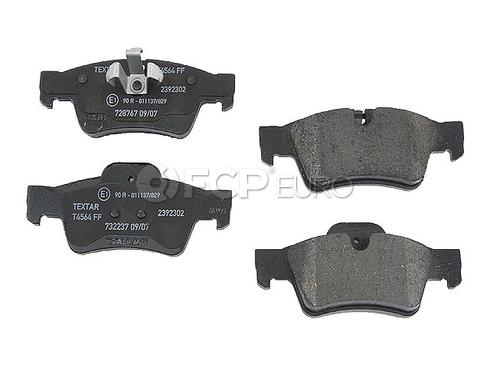 Mercedes Brake Pad Set Rear - Textar 1644201520