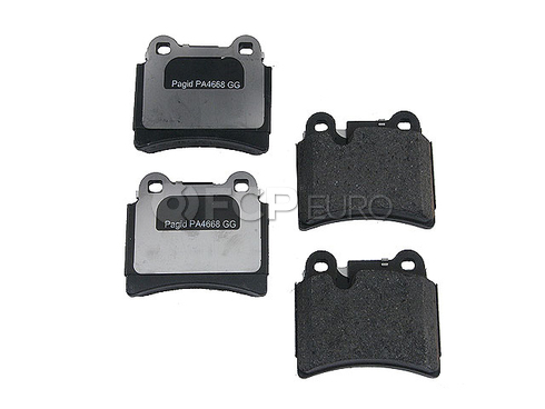 VW Brake Pad Set (Touareg) - Pagid D81277P