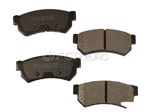 Land Rover Disc Brake Pad Rear (LR2) - Meyle D81314SM