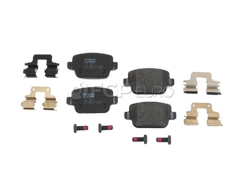 Land Rover Disc Brake Pad Rear (LR2) - TRW D81314TRW