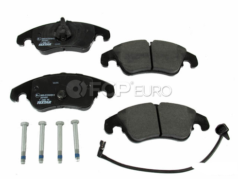 Audi Brake Pads Front - Textar D81322T