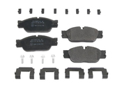 Jaguar Brake Pad Set (S-Type XJ8 Vanden Plas) - Jurid D849J