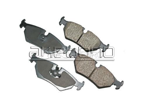 Jaguar Brake Pads Set Rear (Vanden Plas XJ6 XJS) - Akebono EUR517