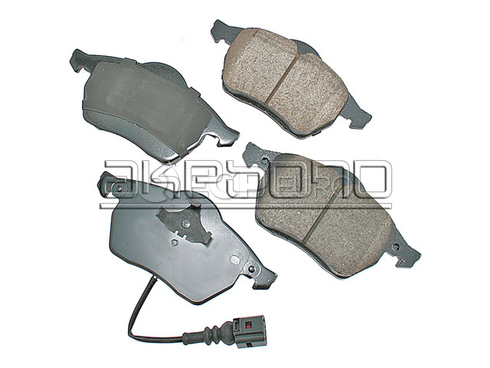 Audi VW Brake Pad Set (TT Beetle Golf Jetta) - Akebono 1J0698151M
