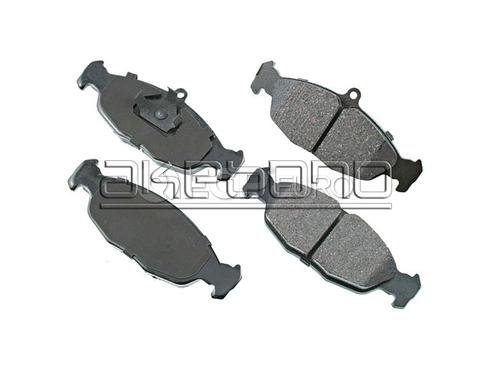 JaguarBrake Pad Set (Vanden Plas XJ6 XJR XJS) - Akebono EUR688