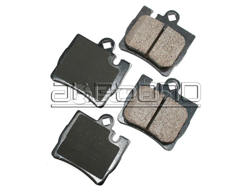 Mercedes Brake Pad Set Rear (S-Class) - Akebono 0044209420