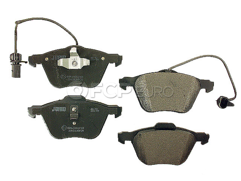 VW Brake Pad Set (EuroVan) - Jurid D885J