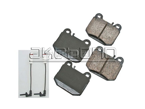 Mercedes Brake Pad Set (ML) - Akebono 1634201120