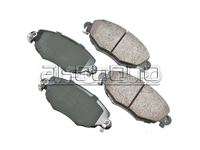 Jaguar Brake Pad Set - Akebono C2S52079