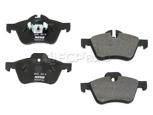 Mini Disc Brake Pad Front (Cooper) - Textar Ceramic 34116770332