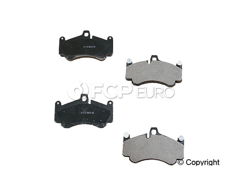 Porsche Brake Disc Pad Set (911) - Meyle 99735194701