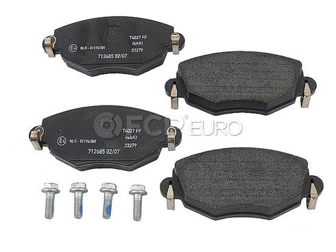 Jaguar Brake Pad Set (X-Type) - Textar D910T