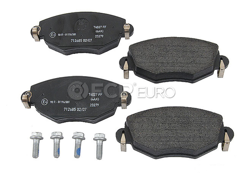 Jaguar Brake Pad Set (X-Type) - Textar D910T