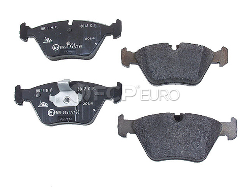 BMW Brake Pad Set Front (330Ci 330i 330xi) - ATE 607155