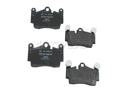 Audi VW Brake Disc Pad Set - Textar 95535293904