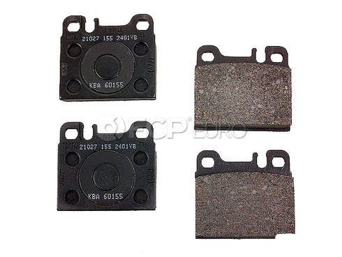 Mercedes Brake Pad Set Rear (560SEL) - TRW 0014207320