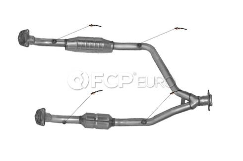 Land Rover Catalytic Converter (Range Rover Defender 110 Defender 90) - DEC ROV81105