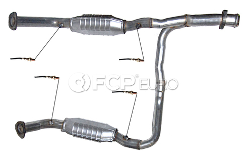 Land Rover Catalytic Converter (Range Rover) - DEC ROV81109