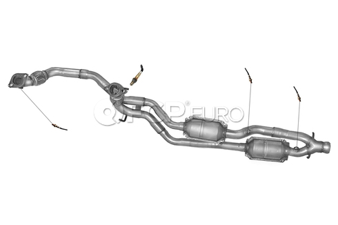 Saab Catalytic Converter (900) - DEC SA2923