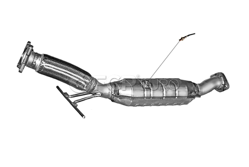 Volvo Catalytic Converter Rear (V70 S60) - DEC VO3590