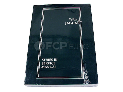 Jaguar Repair Manual (Vanden Plas XJ12 XJ6) - Robert Bentley JG8000XJ6