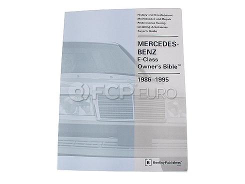 Mercedes Enthusiast Book - Robert Bentley MB800GMOB