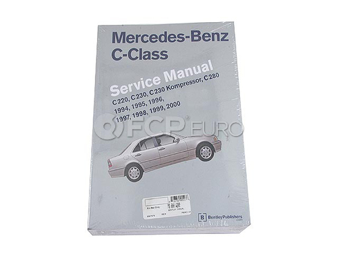 Mercedes Repair Manual (C280 C220 C230) - Robert Bentley MB800W202