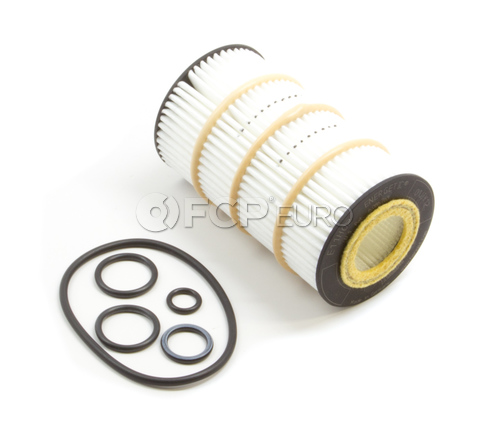Mercedes Engine Oil Filter Kit - Hengst 0001802609