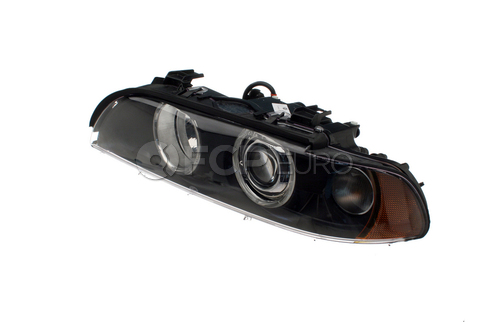 BMW Xenon Headlight Assembly Left (E39) - Hella 63126912439