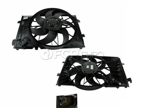 Mercedes Cooling Fan Assembly - Genuine Mercedes 2035001693