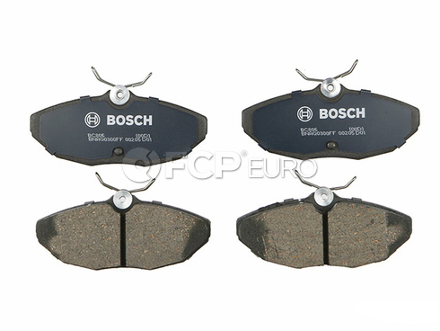 Jaguar Brake Pad Set (S-Type) - Bosch BC806