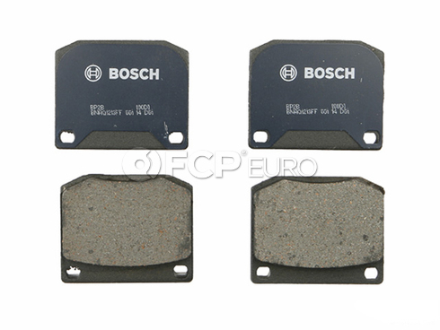 Saab Brake Pad Set (900) - Bosch BP2B
