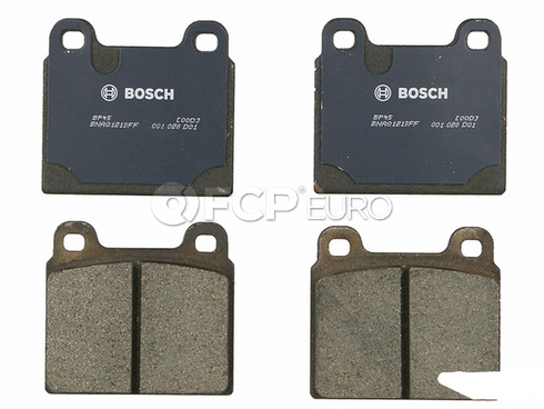 VW Brake Pad Set (Transporter Vanagon Campmobile) - Bosch BP45