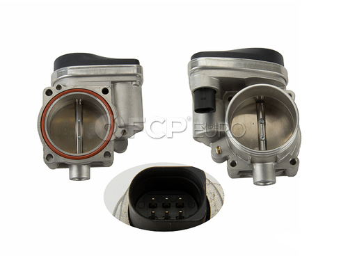 BMW Throttle Body - Genuine BMW 13547515196