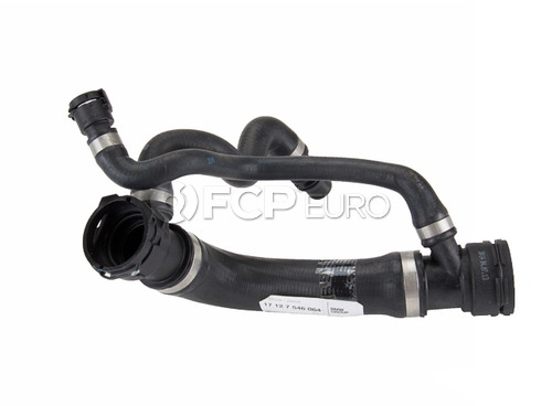 BMW Radiator Hose Upper (E60) - Genuine BMW 17127546064