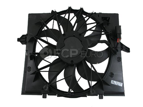 BMW Cooling Fan Assembly (E60) - Genuine BMW 17427543282