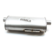 Volvo Exhaust Muffler Rear (740 940) - Starla 235-019