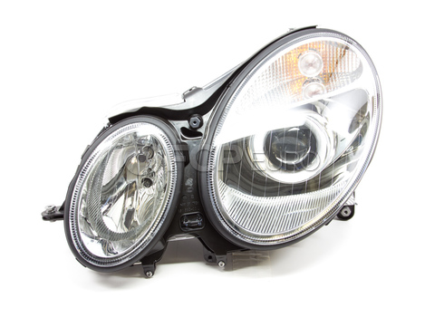 Mercedes Halogen Headlight Assembly Left - Hella 2118200361