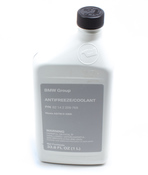 BMW Coolant/Antifreeze (1 Liter) - Genuine BMW 82142209769