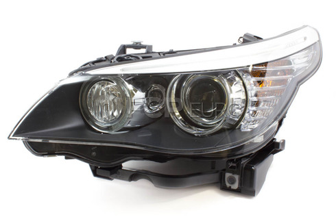 BMW Headlight Assembly Left (E60) - Hella 63127045695