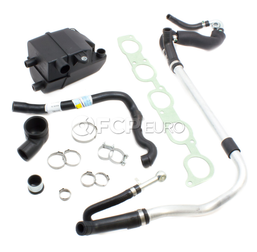Volvo Pcv Breather System Kit Genuine 516251 Fcp Euro V70 Fuel Filter Lines