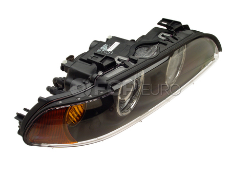 BMW Halogen Headlight Assembly Right (E39) - Hella 63126900200