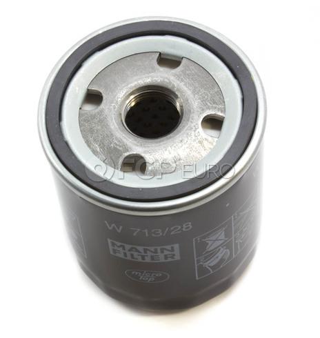 Land Rover Engine Oil Filter (Freelander) - Mann W713/28