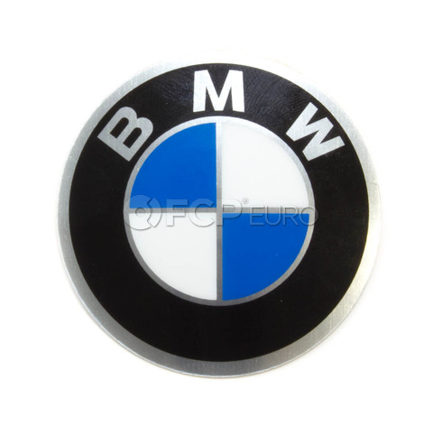 BMW Wheel Cap Emblem (45mm) - Genuine BMW 36131181082